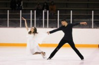 Jessenia & Marko, the winners of Ice Dance Novice